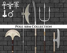 3D Ancient Pole Arm Pack