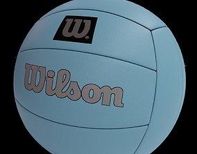 Realistic Wilson Volleball 3D asset