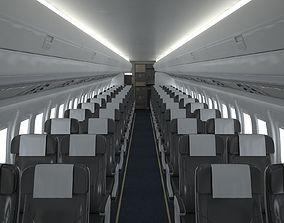3D Airplane Cabin V3