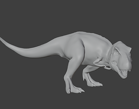 Low Poly T-Rex 3D asset