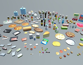 Food And Drink Package 3D model