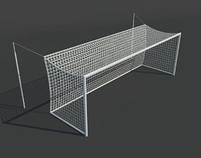 3D asset Soccer Goal