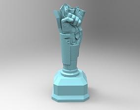 3D print model Cup steel hand