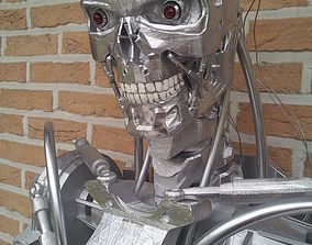 Terminator real life size 1m80 3D model