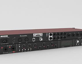 3D model Focusrite Scarlett 18i20 Audio Interface