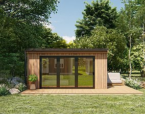 3D model LUMION and Sketchup - The Garden Room