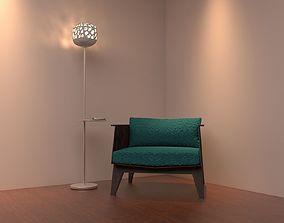 Floor lamps - 11 types 3D model design