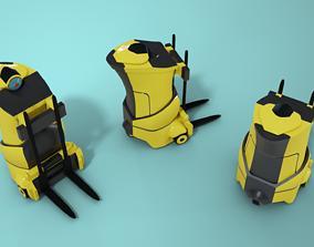 Automated Forklift 3D asset