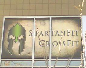 SpartanFit Logo 3D model