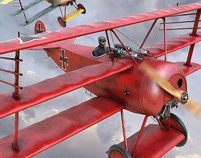 Fokker DR-1 3D
