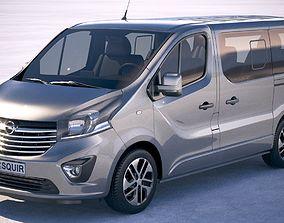 3D model Opel Vivaro Passenger 2015-2018