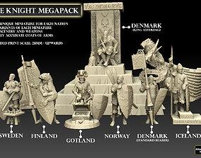 3D print model Norse Knight Megapack