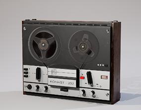 Reel to Reel Recorder 3D asset