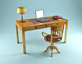 3D model Cabinet Desk