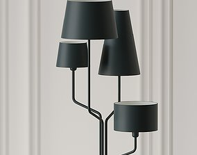 Tria Floor Lamp by Almerich 3D