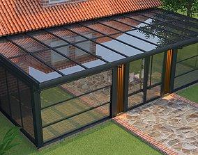 winter garden 3D