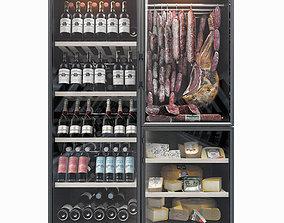 Calice wine fridge 3D