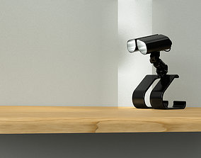 3D asset Table lamp WallE