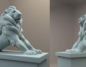 3D print model Paris Denfert Lion