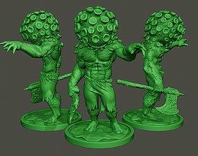 Humanoid virus 0008 3D print model