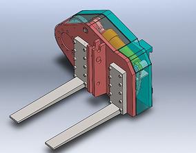 Mine transport 3D printable model