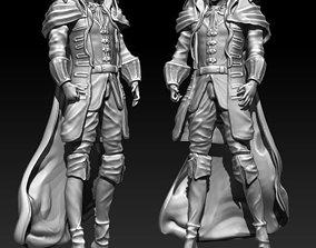 Alucard Castlevania 3D Model for printing