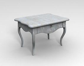 3D model Old Antique Desk