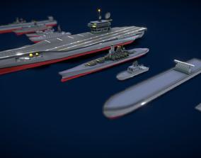 V5 Colection Ship 3D model