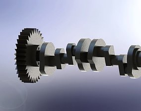 Crankshaft part 3D model