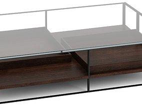 3D model BB Italia Maxalto Lithos coffee table