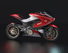 Bimota Mantra electric motorcycle concept 3D model