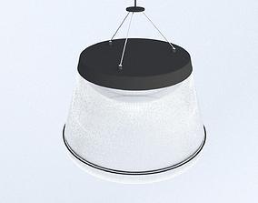 3D Fibre Ceiling Light