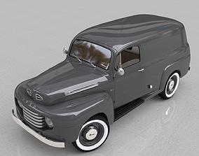FOR-D F-1 PANEL TRUCK 1948 3D model