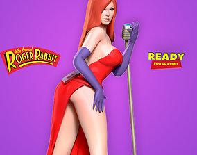 3D print model Jessica Rabbit