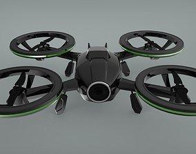 3D printable model X-Black Drone - Quadcopter