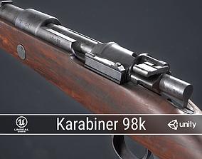 PBR Mauser Karabiner 98k 3D asset realtime