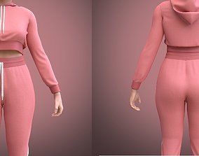 3D FEMALE TRACKSUIT