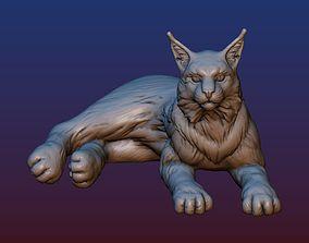 3D printable model Lynx cat