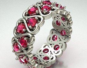 Jewelry Ring Women wedding 3D print model