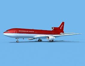 3D model Lockheed L1011 Savannah Air Charter