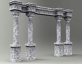 Columns 3D print model