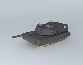 kara dau prototype tank 3D model