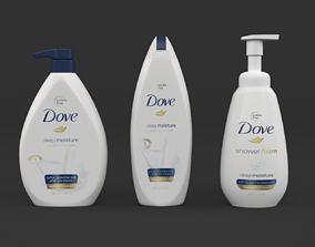 Dove Body Wash 3D model