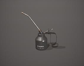 3D model Black Oil Can