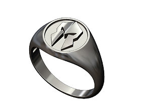 Spartan helmet signet ring 3D print model