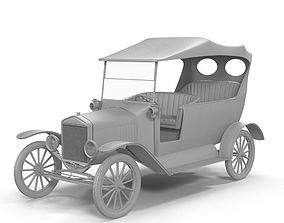 Vintage Car 3D model low-poly