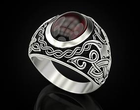 Celtic Man Rings 3D print model other