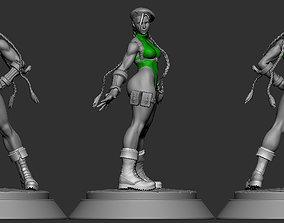 3D printable model Cammy White Street Fighter