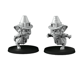 3D printable model Runner Leprechauns