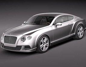 3D model Bentley Continental GT 2012